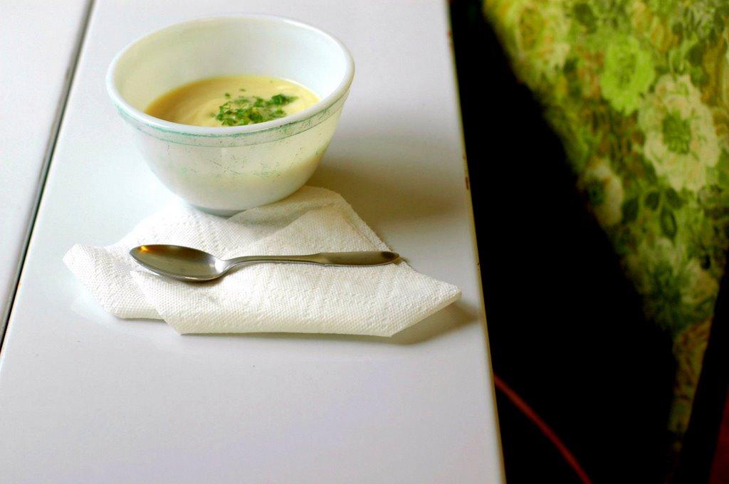 Purée of Celery Root Soup