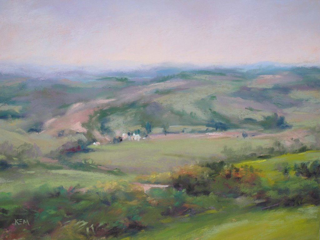 painting my world: french countryside painting