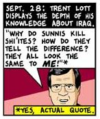 Senator Trent Lott on Iraq