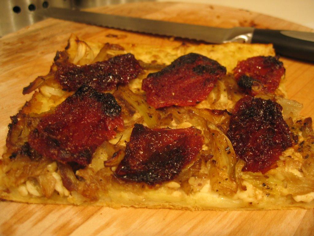Confiture maison tarte au fenouil et aux tomates sechees au soleil - Vrai frigo americain ...