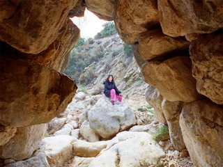 Korinna at the Mycenaean Bridge
