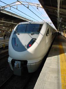 JR Shirasagi - Nagoya to Toyama