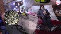 Freck-sick az ágyon, bűneit olvassák