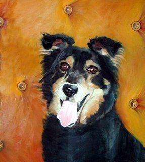 Sylvias Hund by Liza Hirst