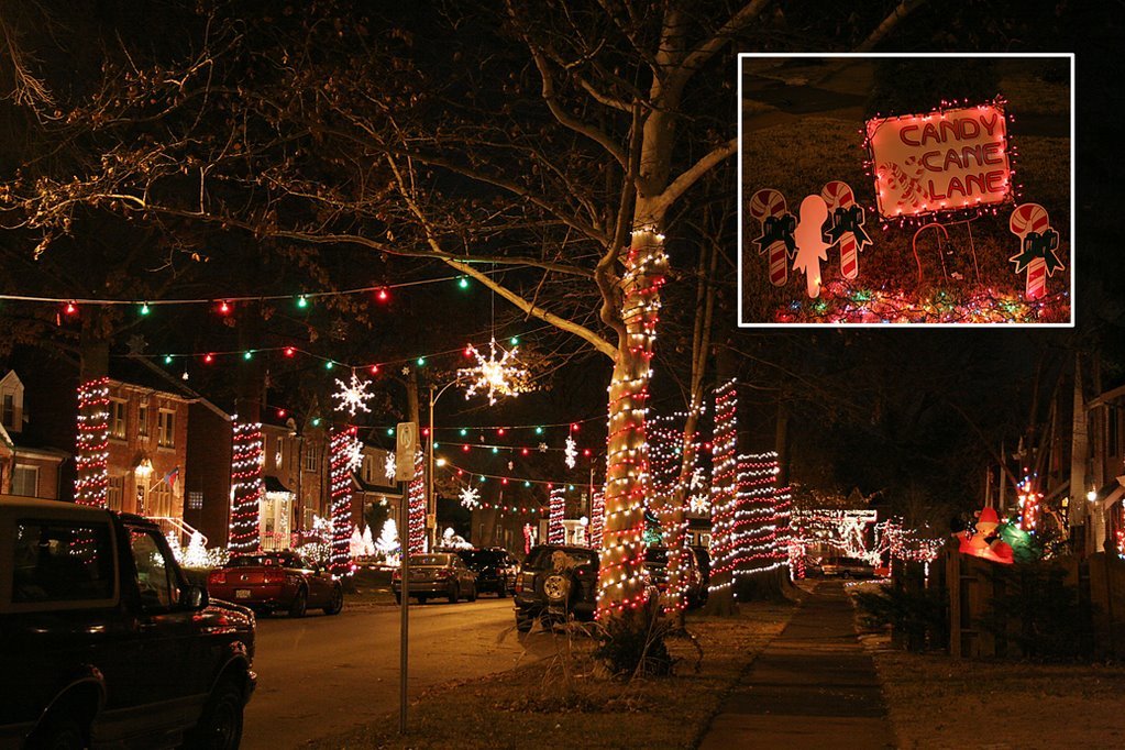 Charming Merriest Christmas In St. Louis Hills