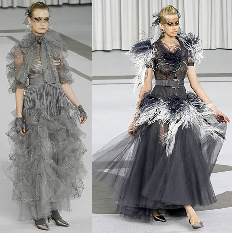 Couture Chiffon Dress