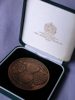 Medal in a rather snazzy display box