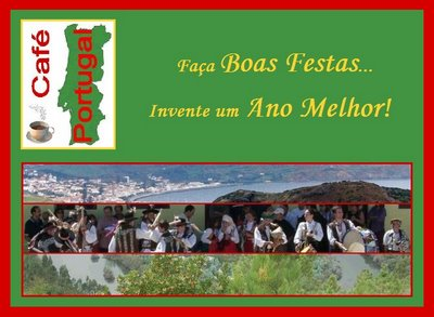 as BOAS FESTAS do CAFÉ PORTUGAL