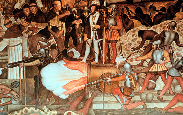 Orcinus eliminationism in america iii for Diego rivera la conquista mural