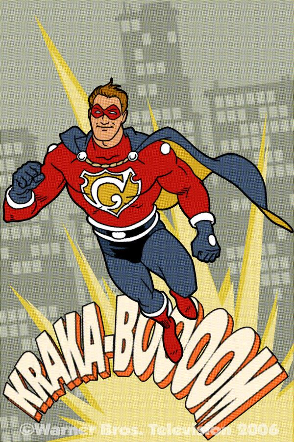Retro Superhero Poster Commission