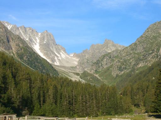 Excursiones por el monte tmb etapa 7 de relais d 39 arpette for Fenetre d arpette