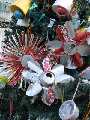 Recyclable Christmas Tree Ornaments