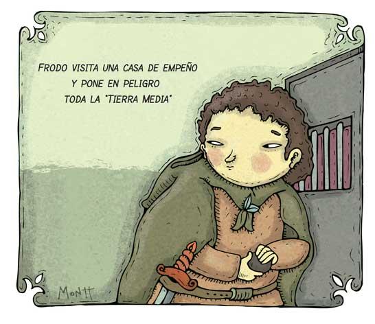 Frodo por Alberto Montt