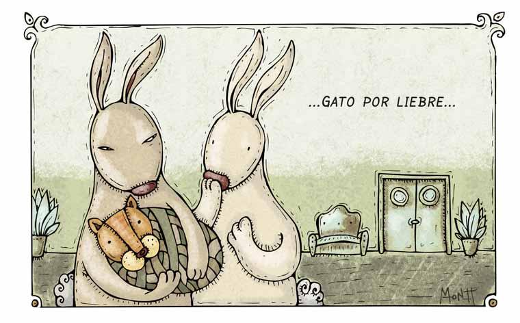 Caricaturas de Alberto Montt