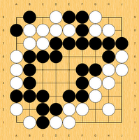 My most recent game. I was black.