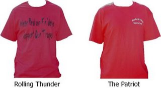 Red Shirts for sale