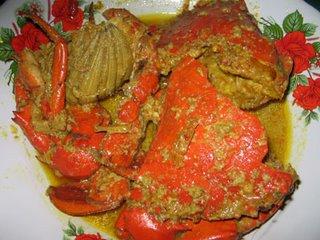 resep masakan dan cara memasak kepiting kare
