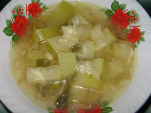 SAYUR LABU AIR