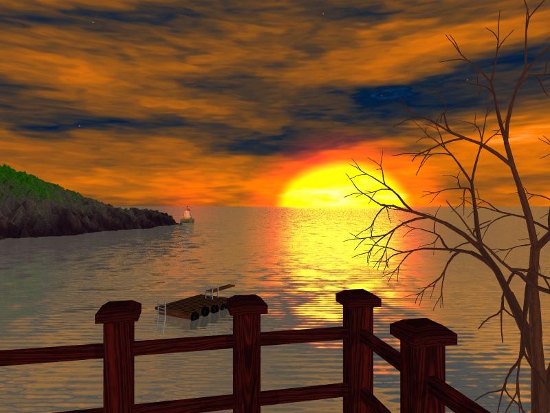 تمهل وانت تقراها القلب يقرا Sunset.jpg