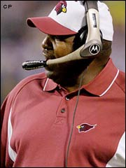 Denny Green - Arizona Cardinals Not Firing Green Now