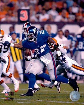 Let New York Giants RB Brandon Jacobs Loose!!
