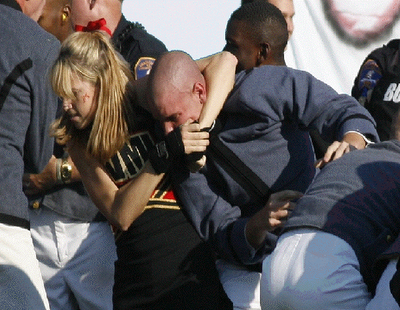 VMI Cheerleader Fight; Headlock Defines 21st Century Woman