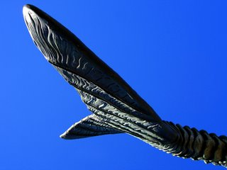 Fish Tail Sculpture