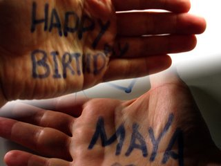 Happy Birthday Maya