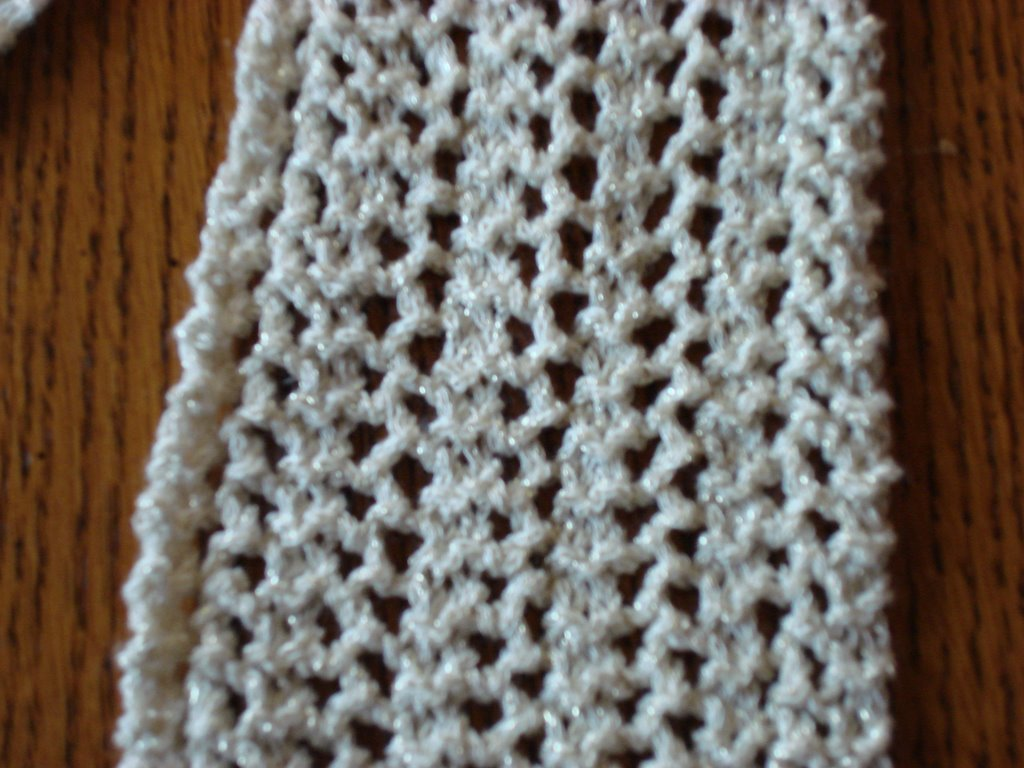 born2knit: Garter Lace Scarf