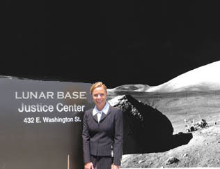 Lunar Base Justice Center