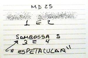 Sambossa 5 Zero Hora