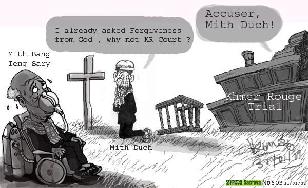 Ki media january 2007 political cartoon khmer rouge trials saga malvernweather Image collections