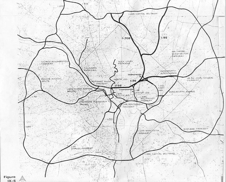 A Trip Within the Beltway 1971 plans