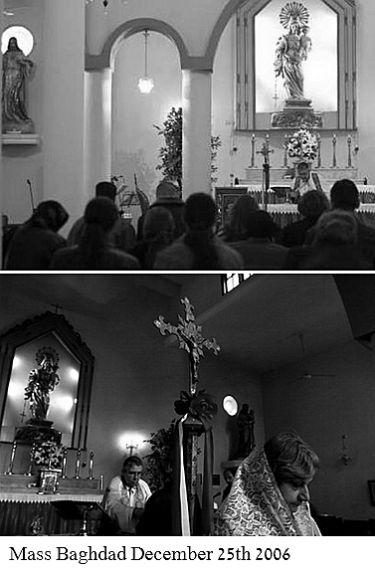 Christmas Mass Baghdad