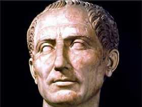 Caesar's face