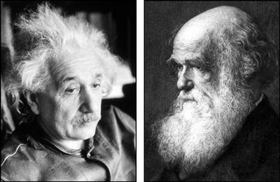 An essential duo: Einstein & Darwin