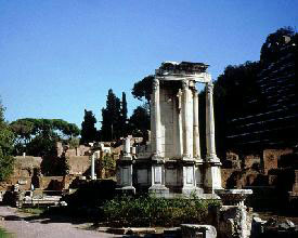 Remains of Temple of Vesta