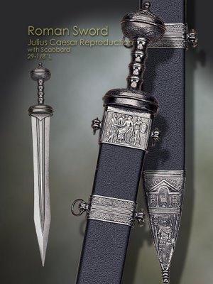 Caesar's sword: the gladius--CLICK to enlarge