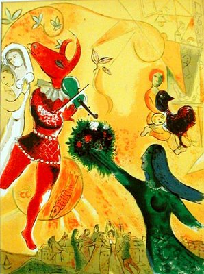 Marc Chagall:Dance
