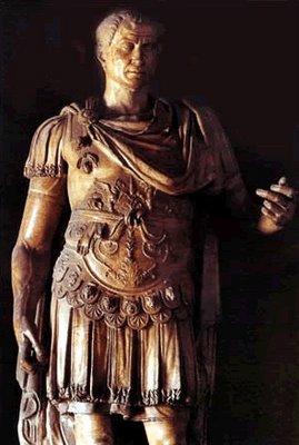 Caesar's statue