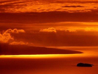 Blody Island Sunset