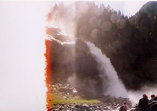 Image of waterfall in Austria