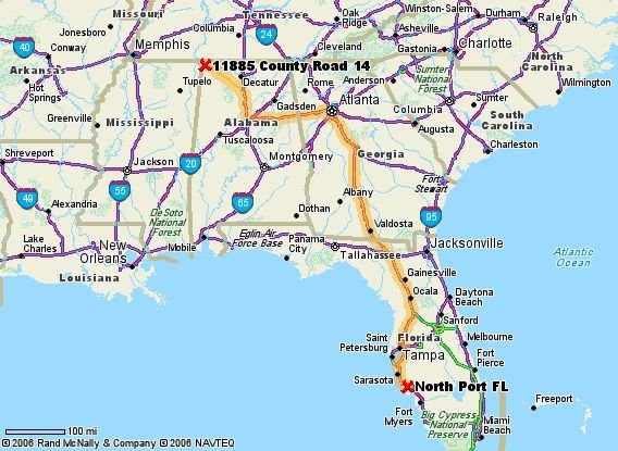Map Of Florida And Alabama Afputracom - Map of alabama and florida