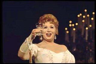 Beverly Sills, Sì, sì, un brindisi!