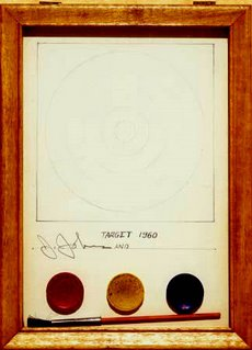 Jasper Johns, Do It Yourself (Target), 1960