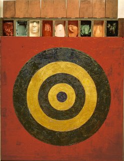 Jasper Johns, Target with Plaster Casts, 1955