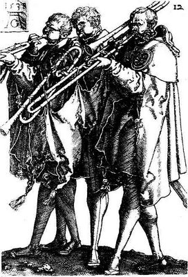 Albrecht Dürer, Sackbut players