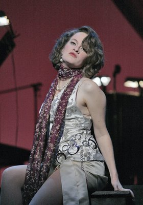 Kara Morgan as Anne Sexton in Transformations, Maryland Opera Studio, 2007, photo by Cory Weaver