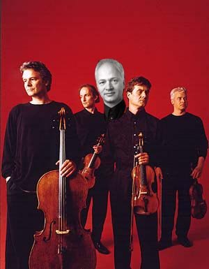 Auryn Quartett with Roger Tapping
