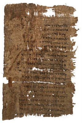 Logia Jesou, Oxford, Bodleian Library, MS. Gr. th. e. 7 (P), 3rd century CE